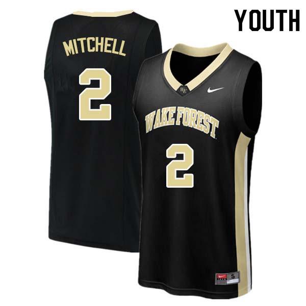 quality design e54fa 72e89 Donovan Mitchell Jersey : NCAA Wake Forest Demon Deacons ...